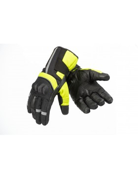 Octane Thermo(Hi Viz) Gloves (4 Season - 3 Layer - Water proof)